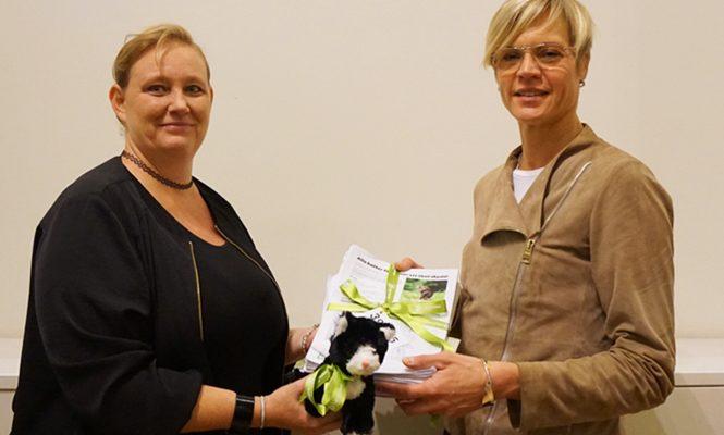 Linda Maria Vonstad och Elisabeth Backteman