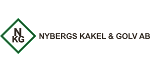 Logga Nybergs kakel och golv
